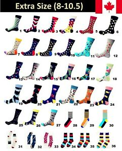 Casual-Cotton-Color-Extra-Large-Happy-Socks-Fashion-Men-Women-Funny-8-10-5