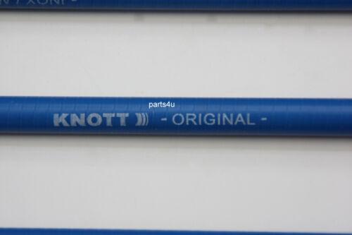 2 x Knott Bremsseil Nirosta HL 830 GL 1040 mm 37086.07 Niro VA /& Glocke 22 mm