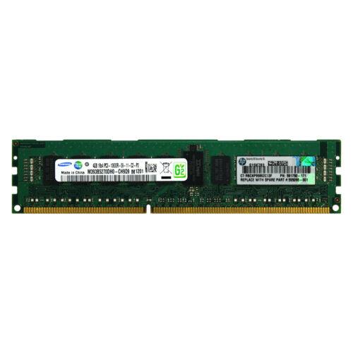 HP 593911-B21 595096-001 591750-171 4GB 1Rx4 PC3-10600R 1333MHz REG MEMORY RAM