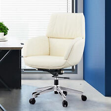 Pu Leather Ergonomic Office Chair Adjustable Executive Computer Gaming Desk Task