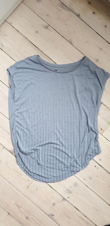 Fitnesstøj, trænings tshirt, H&M