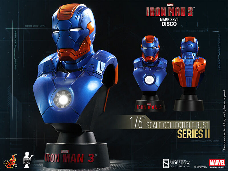 Iron Man 3 Collectible Bust Hot Toys Sideshow Sideshow Sideshow Collectibles Marvel 1 6 Scale NEW 81a0fe