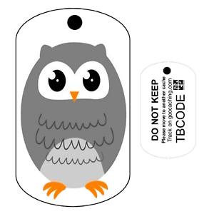 Details about Oliver the Owl (Travel Bug) For Geocaching - Trackable Tag -  Owl Trackable Tag