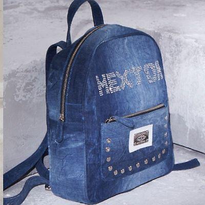 Responsabile By Alina Vintage Zaino Metallo Jeans Jeans Zaino Borsa Da Donna Borsa Borsa Uni #s29-mostra Il Titolo Originale Prezzo Basso