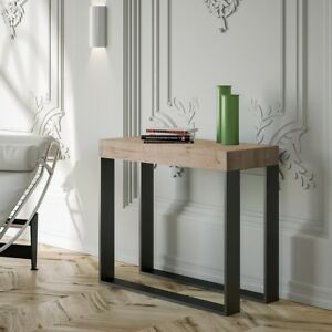 Tavolo-consolle-allungabile-Elettra-salotto-soggiorno-cucina-stile-moderno