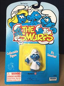 Smurfs-Little-Angel-Smurf-20212-Rare-Vintage-Figure-PVC-Toy-Figurine-1980s-Peyo