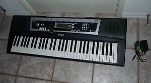 yamaha ypt210 61 full sized key keyboard w 375 tones w. Black Bedroom Furniture Sets. Home Design Ideas