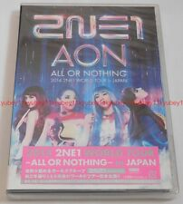 New 2014 2NE1 WORLD TOUR ALL OR NOTHING in Japan 2 DVD AVBY-58264