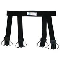 Bauer Ice Hockey Sock Garter Belt Hold Up Socks Waist Youth L/xl Size 22-29