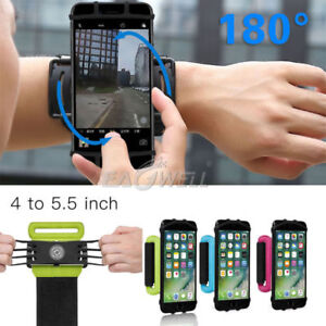 180-Rotate-Sport-Running-Jogging-Wrist-Band-Bag-Case-Holder-Universal-For-Phone