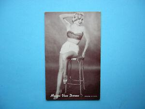 1947-66-ACTORS-amp-ACTRESSES-EXHIBIT-CARD-PHOTO-MAIMI-VAN-DOREN-SHARP-EXHIBITS