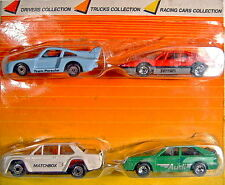 "Matchbox Superfast ""Drivers Collection"" Giftset aus Brasilien, sehr seltenes Set"