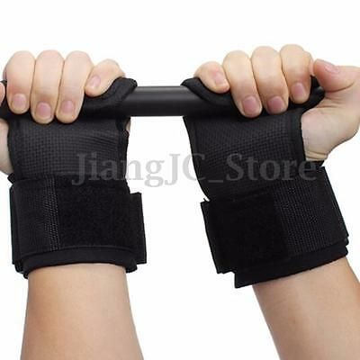 Gym Weight Lifting Bar Hand Wrist Support Brace Strap Wrap Training Grip Gloves