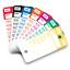 Plastic-Key-Tags-Genuine-Versa-Tag-TOP-STRIPE-Key-Tag-250-per-Box-w-Marker thumbnail 1