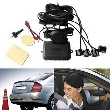 4 Parking Sensors Car Backup Reverse Radar Rearview Buzzer Sound Alarm#N