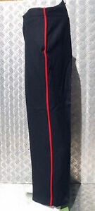 Genuine-British-Military-Issued-Footguards-ETC-Black-Wool-Dress-Trs-All-Sizes