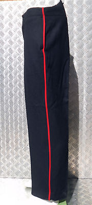 Genuine British Military Issued Footguards Etc Black Wool Dress Trs - All Sizes