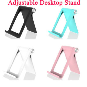 Universal Desk Stand Holder Cradle For iPhone Samsung Cell Phone Tablet Foldable