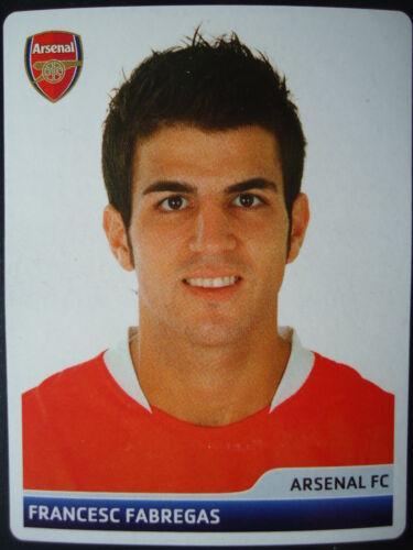 Panini 80 Francesc Fabregas Arsenal FC UEFA CL 2006//07