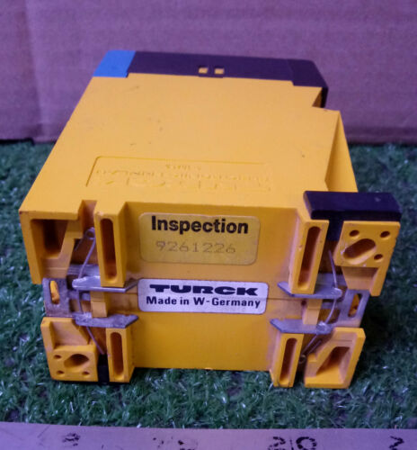 1 USED TURCK MS13-33 EXO-R MULTISAFE AMPLIFIER-RELAY ***MAKE OFFER***