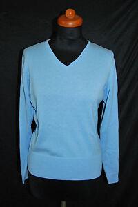 D1621 verde Blue Maglione lana scollo in scollo Precious con a Light V V 44 89 con Soft a wTwgAcEFq