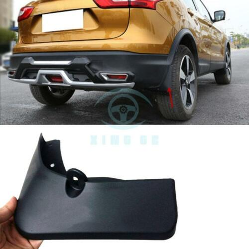 For Nissan Qashqai 2015-2017 Modified Mud Flap Splash Guard Mudguards Black