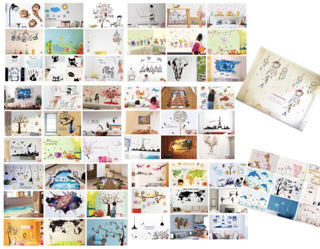 BETTY BOOP 3D Kids Boys,GIRLS Stickers Art Mural Decal Decor Gift 5 PACK