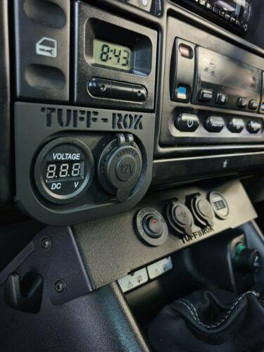 Land Rover Discovery 1 /& 2 Accessoire v//COMPTEUR /& 12 V aux pièces de monnaie//cendrier Power Panel