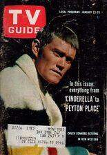 1965 TV Guide January 23 - Chuck Connors; Bob Denver - Gilligan's island; Wynter