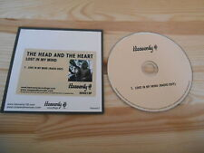 CD Indie The Head And The Heart - Lost In My Mind (1 Song) Promo HEAVENLY