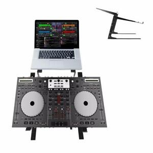 Pyle PLPTS38 Universal Dual Device Laptop Stand, Sound Equipment DJ Mixing Workstation Canada Preview