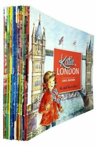 James-Mayhew-Katie-Series-10-Books-Collection-Set-Pack-Inc-London-Christmas