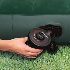 Inflatables Electric Air Pump Air Bed Compressor 12v DC Car Lighter 3 Nozzles