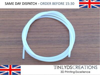 PTFE Tube ID 2mm OD 4mm for Extruders 1.75 Filament 3D Printer Parts