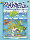 Mythical Mermaids Coloring Book by Marty Noble (Paperback, 2011)