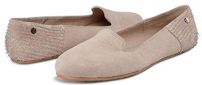 Volcom SUMMER SCHOOL Womens Flat Shoes 7 US Tan NEW