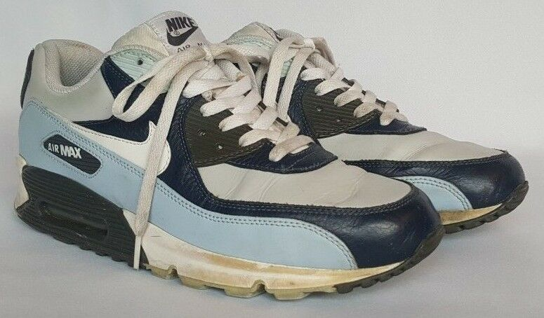 Special limited time Nike Air Max 90 Obsidian/White-Obsidian Midnight Fog Comfortable