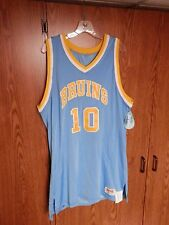 VINTAGE LOOK UCLA BRUINS NCAA Basketball Jersey men's size XL NWT SAND KNIT sewn