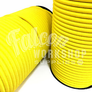 Parts & Accessories Marine Rope 6mm Luminous Yellow Elastic Bungee Rope Shock Cord Tieroof Racks Trailers 100% High Quality Materials
