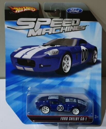 HOT WHEELS 2010 FORD SHELBY GR-1 DARK BLUE R8505