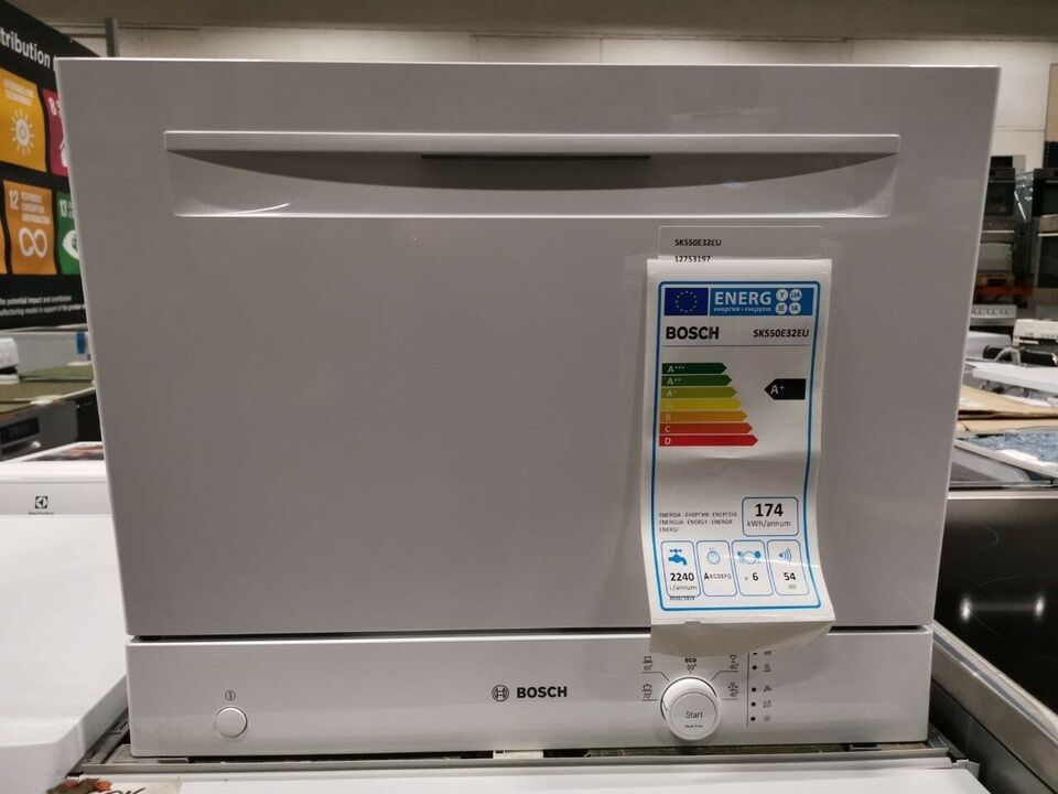 Bordopvaskemaskine fra Bosch