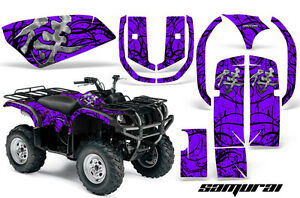 Yamaha Grizzly 660 >> Details About Yamaha Grizzly 660 Creatorx Graphics Kit Decals Stickers Samurai Bpr