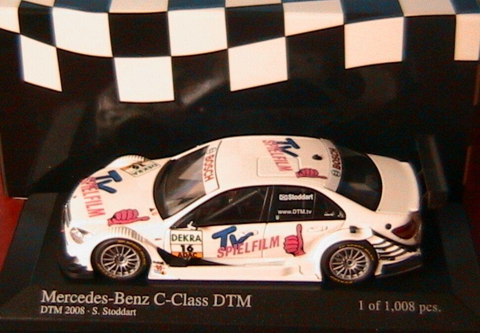 MERCEDES C CLASS  16 DTM 2008 TEAM AMG STODDART MINICHAMPS 400083716 1 43