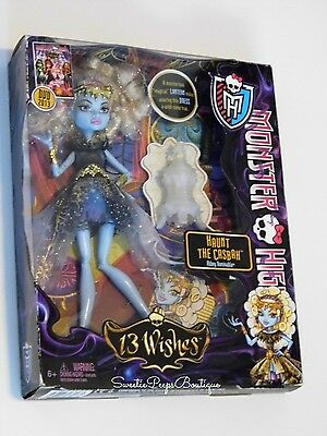 Monster High 13 Wishes Abbey Bominable Doll Haunt The Casbah