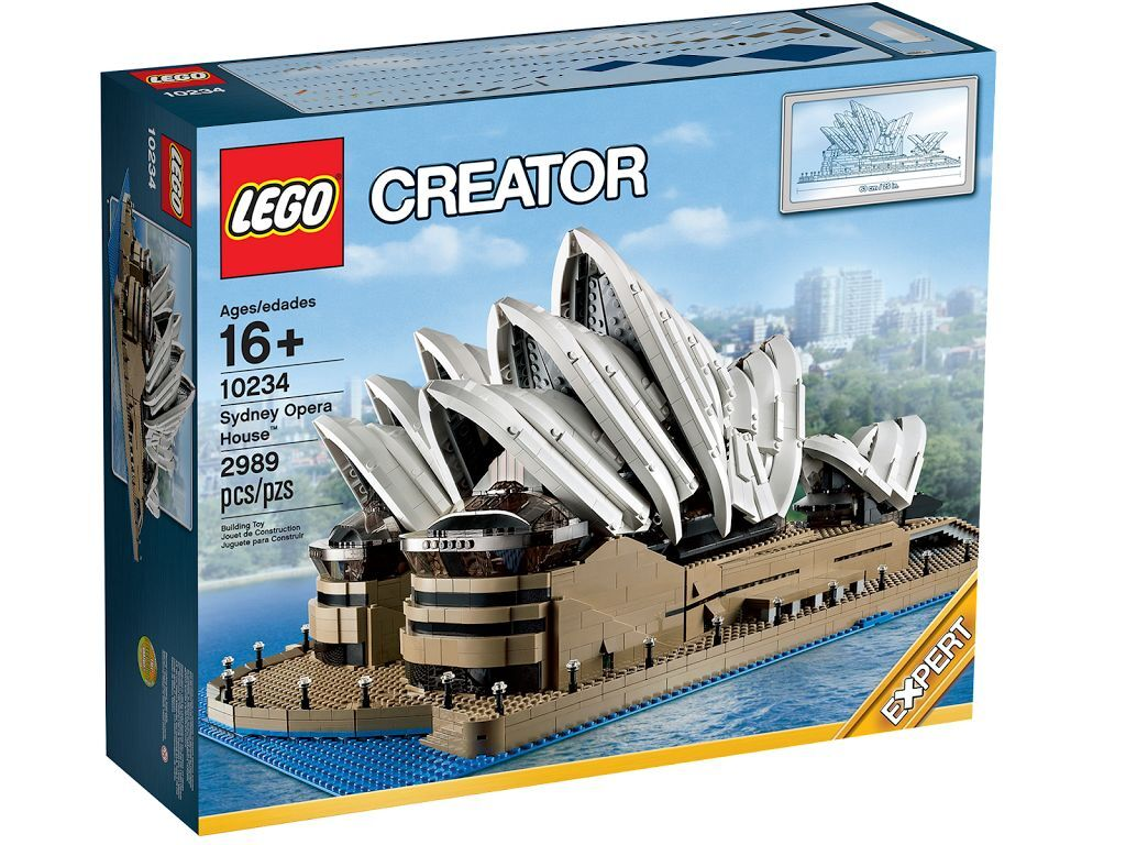 LEGO 10234 Creator Expert Limited Series Sydney Opera House Exclusiv BINSB NUOVO
