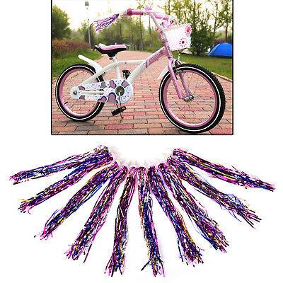10x Bike Cycling Tricycle Kid Girl Handlebar Colorful Streamers Tassel JH