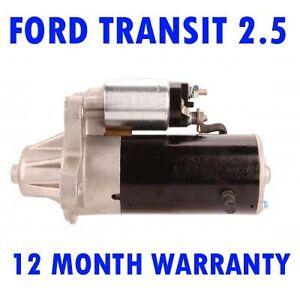 Ford-Transit-2-5-Diesel-1991-2000-Motorino-di-Avviamento-Garanzia-12-Mesi