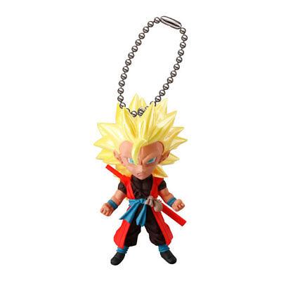 Dragon Ball Z Mascot Swing PVC Keychain SD Figure ~ SS3 Future Trunks @3101
