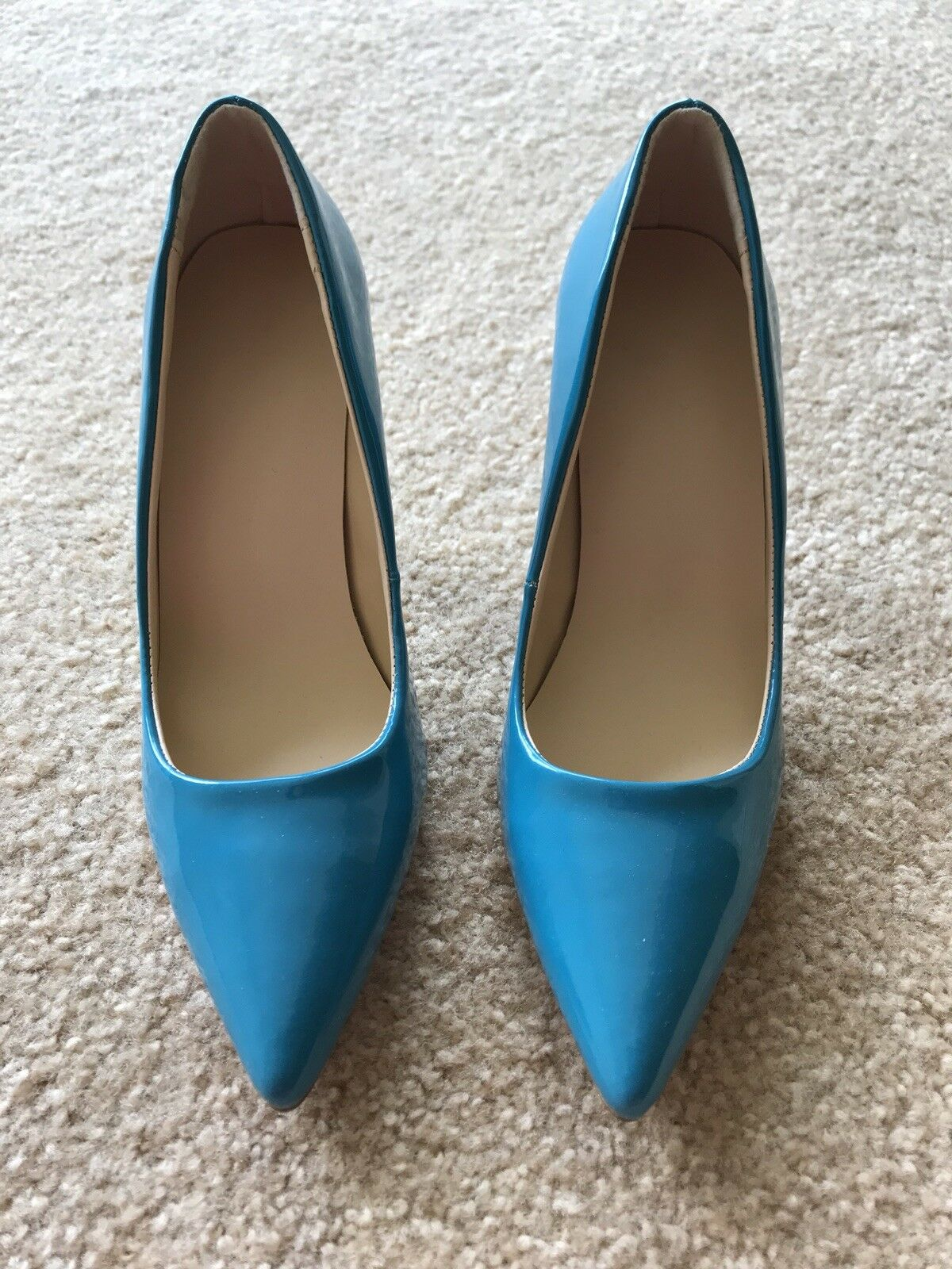 NEW Donna's Sexy Pumps teal color