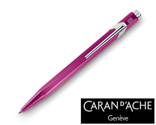 Caran d/'Ache 849 Metal X Violet Ballpoint Pen 849.350